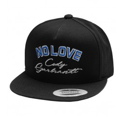 No Love Signature Hat - Black