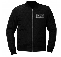 Vibe Zip Up Fitted Jacket Black